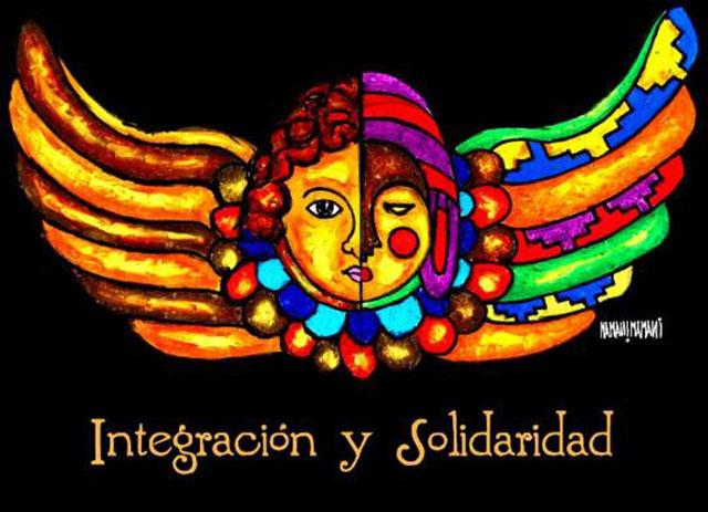BOLIVIA - MAMANI MANANI - INTEGRACI+ôN Y SOLIDARIDAD
